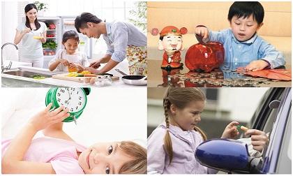 10 kĩ năng bắt buộc phải trang bị cho trẻ trước khi lớn để trở thành người có trách nhiệm