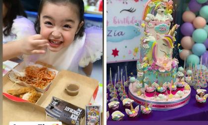 Con gái 'Mỹ nhân đẹp nhất Philippines' siêu đáng yêu trong tiệc sinh nhật sớm