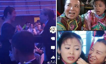 Lâm Tâm Như hội ngộ 'Dung Ma Ma' khiến khán giả nhớ lại màn châm kim kinh điển