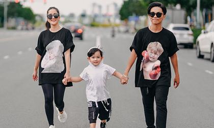 Vợ chồng Khánh Thi - Phan Hiển tranh cãi về cách nuôi dạy con