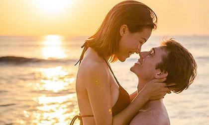 Hoàng Oanh lần đầu chiều chồng chưa cưới: Chủ động đăng hẳn ảnh diện bikini nóng bỏng được nhấc bổng cực tình