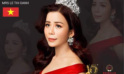 Á hậu Oanh Lê đại diện Việt Nam tham dự cuộc thi Mrs International Global 2019