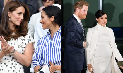 Vượt qua chị dâu Kate Middleton, Meghan mới là người có sức ảnh hưởng về thời trang nhất năm