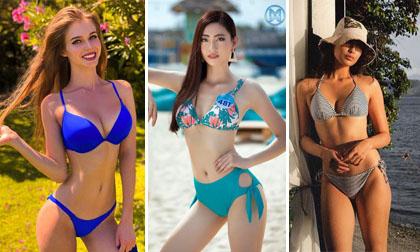 Đọ độ nóng bỏng của Lương Thuỳ Linh và các người đẹp thi Hoa hậu Thế giới 2019