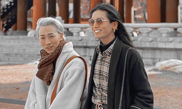 Mới diện hanbok cực xinh, BB Trần và Hải Triều lại bị nhận xét giống 'hai công công tuổi xế chiều'