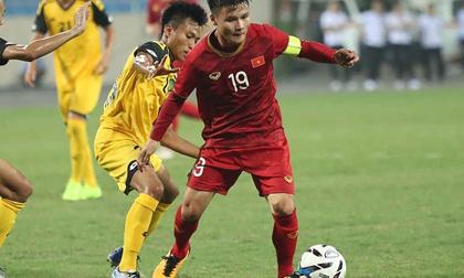 U22 Việt Nam dự SEA Games 30: Quang Hải đeo băng thủ quân