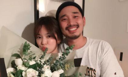 Vứt bỏ quá khứ với Song Joong Ki, Song Hye Kyo đón tuổi mới bên người đàn ông lạ mặt