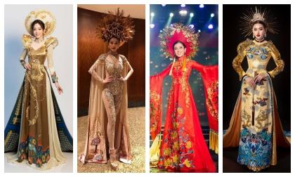 Không phải cứ 'lồng lộn' là ấn tượng, nhìn quốc phục đoạt giải Best National Costume tại đấu trường Quốc tế sẽ hiểu tinh tế mới đẳng cấp