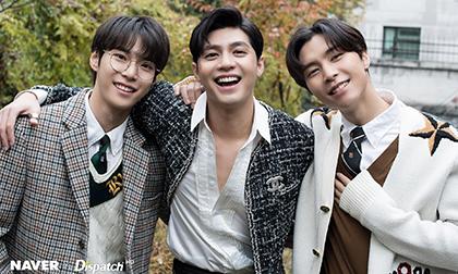 Noo Phước Thịnh gây thương nhớ khi bất ngờ kết hợp cùng hai thành viên nhóm nhạc NCT trên báo Hàn