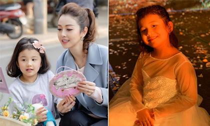 Con gái Hoa hậu Jennifer Phạm lớn phổng phao, được khen dễ thương hơn cả hoa