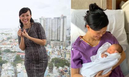 Shark Linh sinh con gái thứ hai ở tuổi 42