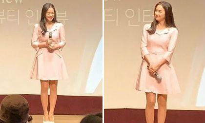 'Gái 2 con' Kim Tae Hee chạy sô liên tục khiến fan không khỏi xót xa