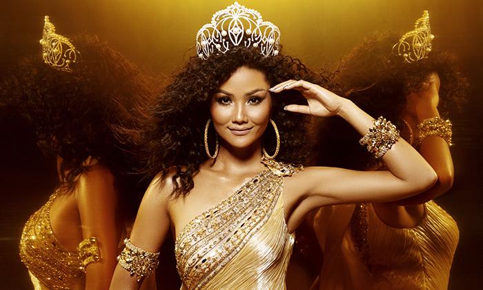 Ngắm nhìn bộ ảnh cuối của H'Hen Niê trong vai trò đương kim Hoa hậu Hoàn vũ Việt Nam