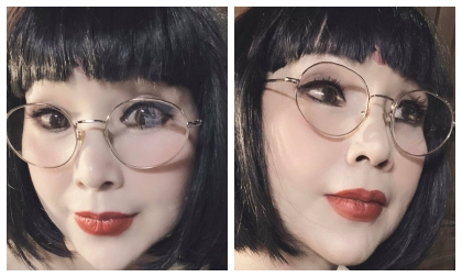 NSND Lan Hương lại gây hốt hoảng với gương mặt cứng như búp bê