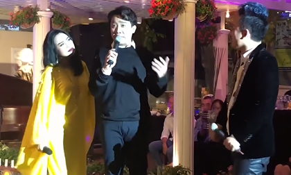 Trấn Thành giả giọng nhiều ca sĩ hát 'Bên em là biển rộng' cùng Thanh Lam, Tùng Dương