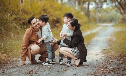 Khoảnh khắc hạnh phúc của gia đình Baggio - Quỳnh Trâm giữa tiết trời se lạnh Sài Gòn