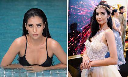 Nhan sắc đời thường xinh đẹp, gợi cảm của người mẫu 22 tuổi đăng quang Hoa hậu Siêu quốc gia 2019