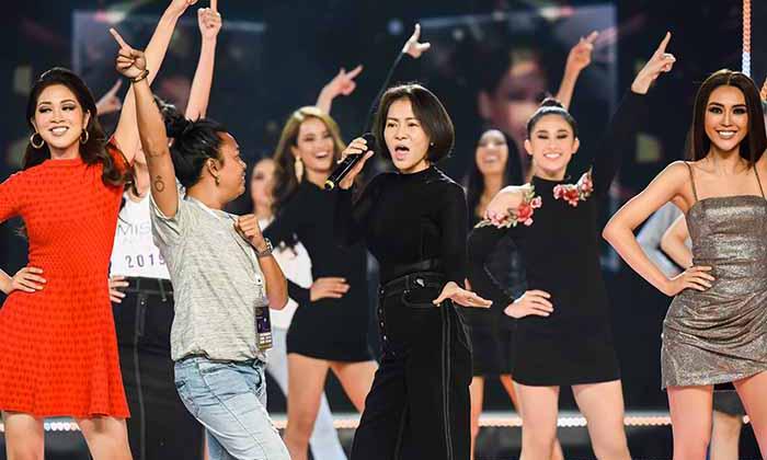 Hậu trường chuẩn bị đêm chung kết Hoa hậu Hoàn vũ Việt Nam 2019