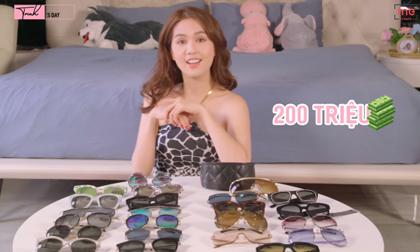 Bỏ hàng trăm triệu sắm kính 'đu trend', Ngọc Trinh tuyên bố xanh rờn: 'Chỉ cần thích là được, giá cả không thành vấn đề'