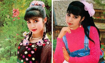 Loạt ảnh hiếm hoi ở thập niên 90 của Việt Trinh được fan cất giữ