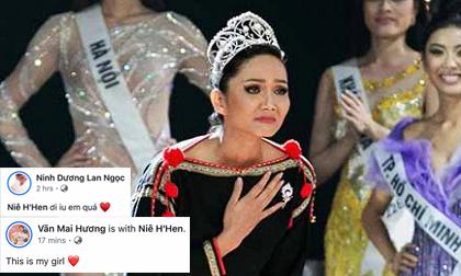 Hàng loạt sao Việt nức nở khen H'Hen Niê tại màn final walk