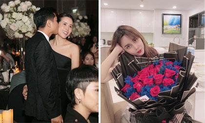 Khoe hoa chồng tặng, Lưu Hương Giang vô tình hé lộ không gian căn hộ mới