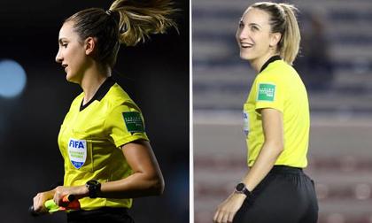 Nữ trọng tài xinh đẹp khiến dân mạng 'phát sốt' sau trận chung kết bóng đá nữ SEA Games