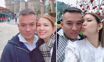 Ca sĩ Phạm Thanh Thảo cùng chồng từ Mỹ về Việt Nam du lịch