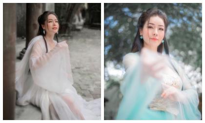 Vẻ đẹp mong manh sương khói của Nhật Kim Anh khi bất ngờ hoá tiên nữ