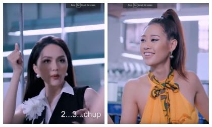 Hoa hậu Khánh Vân từng là học trò của Hoa hậu Hương Giang, chứng minh Hoa hậu tạo ra Hoa hậu