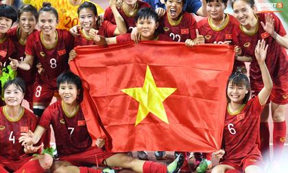 Những khoảnh khắc đầy cảm xúc của các nữ chiến binh Việt Nam sau khi đánh bại Thái Lan