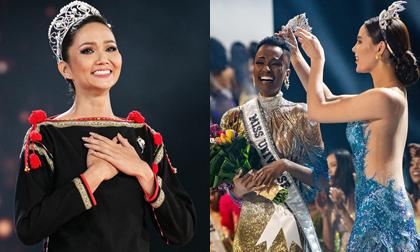 H'Hen Niê gửi lời nhắn nhủ đến cựu và Tân Hoa hậu Hoàn vũ thế giới