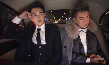 Dương Triệu Vũ - Đàm Vĩnh Hưng thực hiện bộ ảnh với ý tưởng từ phim của Lương Triều Vỹ - Trương Mạn Ngọc