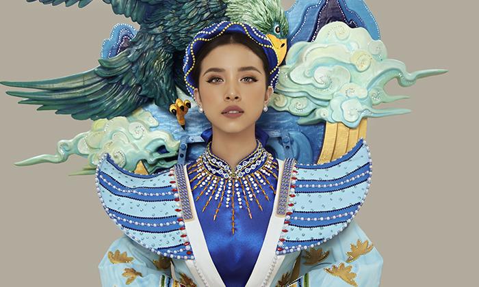Á hậu Thuý An mang câu chuyện Thạch Sanh vào quốc phục dự thi Miss Intercontinental 2019