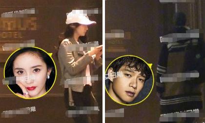 Sau khi bị tung bằng chứng dùng chung đồ, Dương Mịch bí mật hẹn hò với phi công trẻ ở khách sạn?