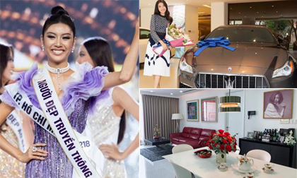 Cuộc sống vạn người mơ ở tuổi 26 của Á hậu Thúy Vân: Ở nhà 400m2, đi xe 8 tỷ