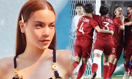 Hồ Ngọc Hà xót cho tuyển bóng đá nữ, hào hứng dự đoán tỷ số cho đội tuyển bóng đá nam trong trận chung kết SEA Games