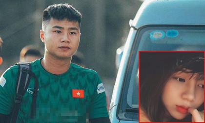 Trước trận đấu chung kết  SEA Games quan trọng, thủ môn Văn Toản vẫn tranh thủ dành lời mùi mẫn cho bạn gái