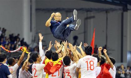 Vượt mặt sao Hàn, bóng đá Việt đốt cháy mạng xã hội Hàn, chiếm trọn 5 mục của các từ khóa hot nhất nhờ giành HCV SEA Games
