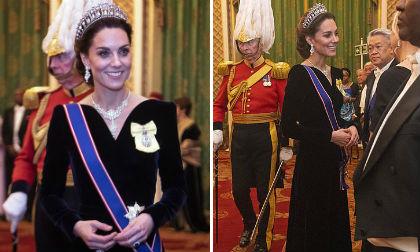 Được Nữ hoàng ưu ái, Công nương Kate mặc sức tỏa sáng không lo cô em dâu Meghan 'cản đường'
