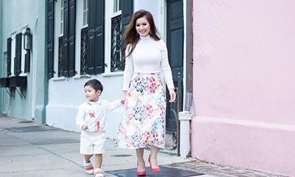 Vợ Đan Trường nói về tâm sự người mẹ: Lo lắng không an vì con trai luôn bị gắn với danh xưng 'rich kid'