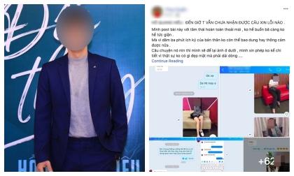 Nam ca sĩ nổi tiếng của Vbiz bị một cô gái trẻ tung bằng chứng tố dàn dựng, 'rủ đi bay lắc rồi cướp đời con gái'?