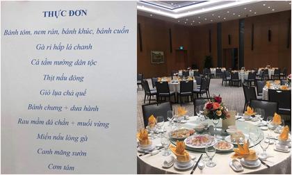 Thực đơn tiệc chiêu đãi Thủ tướng Nguyễn Xuân Phúc mời đội bóng U22 và tuyển nữ Việt Nam có gì?