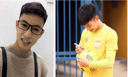 Lon ton đi xin cup vàng bằng giấy của CĐV, Trọng Hùng khiến bao fan girl ngẩn ngơ