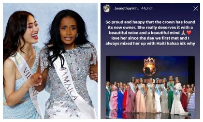 Hoa hậu Lương Thùy Linh dành lời đầu tiên cho Tân Hoa hậu Thế giới với tiết lộ đầy thú vị