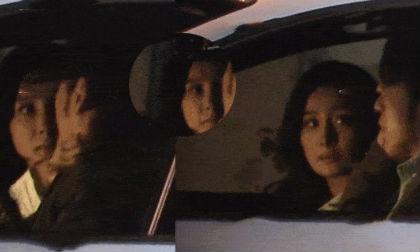 Giữa lùm xùm hẹn hò, Dương Mịch lộ cảnh tình tứ với phi công trẻ trên xe hơi