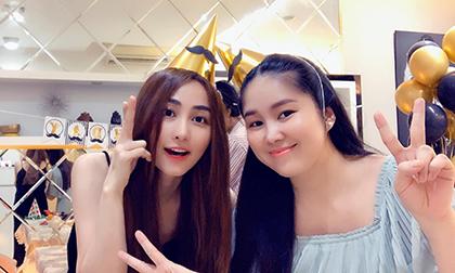 Hội bạn thân họp mặt mừng sinh nhật ông xã Ngân Khánh, Lê Phương lại chiếm spotlight
