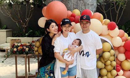 Đăng ảnh sinh nhật, Yumi Dương cho con của vợ chồng Tiến Đạt 'lên sóng'