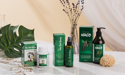 """Bộ sản phẩm Tóc Haco hỗ trợ bảo vệ tóc toàn diện, cho một mái tóc """"không tuổi'"""