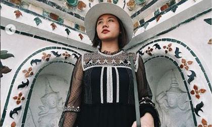 Văn Mai Hương đi du lịch Thái Lan sau scandal bị hacker tung clip nhạy cảm